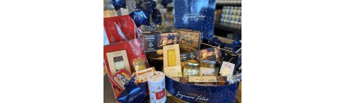 Paniers gourmands bretons à offrir