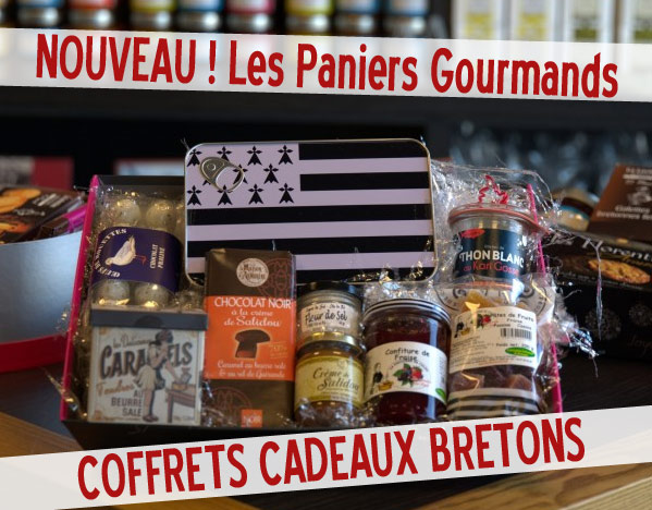 paniers bretons gourmands